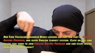 Ninja Teaches English - English Fluency Training - Learn To Speak English Fluently The SMART WAY!