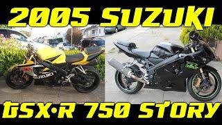 5. 2005 Suzuki GSXR 750