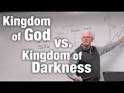 Kingdom of God vs. Kingdom of Darkness