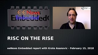 RISC ON THE RISE - an eeNews interview with SiFive founder Krste Asanovic