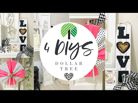 🎀4 DIY DOLLAR TREE PARIS CHIC DECOR CRAFTS 🎀 Olivia's Romantic Home DIY