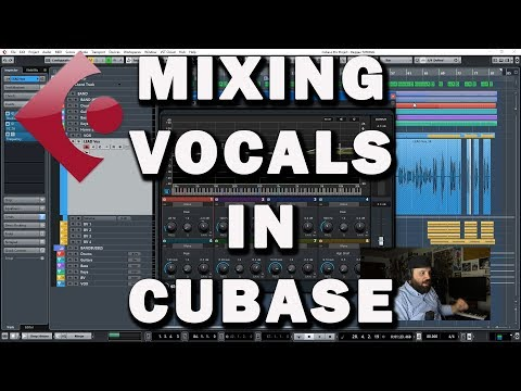 How to Mix Vocals in Cubase (Tutorial)