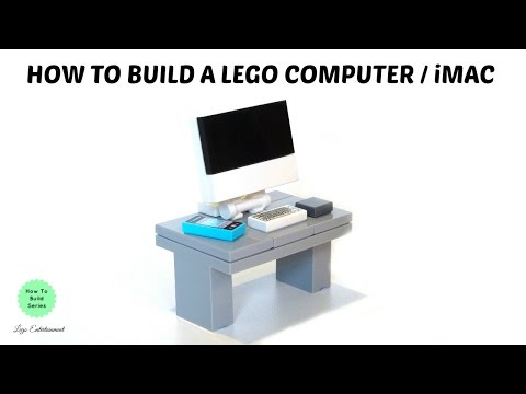 How To Build A LEGO Computer / IMac