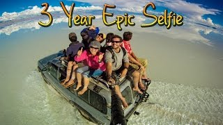 Around the World in 360° Degrees - 3 Year Epic Selfie full download video download mp3 download music download