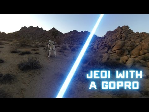 First Person POV Of Jedi Fighting Storm Troopers TIE Fighter