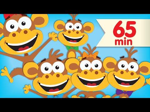 Five Little Monkeys   + More Super Simple Songs & Nursery Rhymes