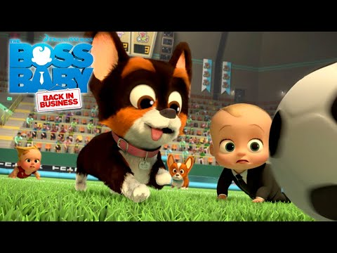 The Babies vs. The Hot Dogs Soccer Game | THE BOSS BABY: BACK IN BUSINESS | NETFLIX