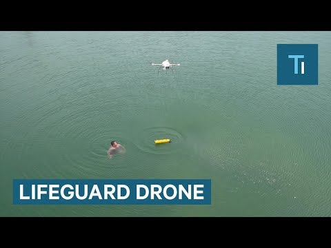 Lifeguards can work with these drones to save lives faster