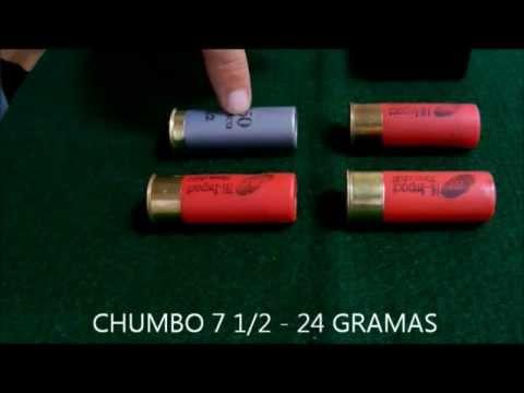 Comparativo cartuchos calibre 12 CBC. 3T x SG x BALOTE x ESPORTIVO. Noções básicas