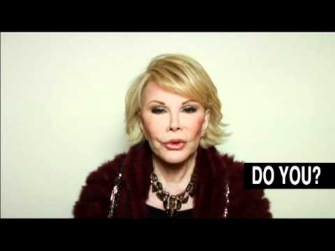 Joan Rivers for HRC's New Yorkers for Marriage Equality