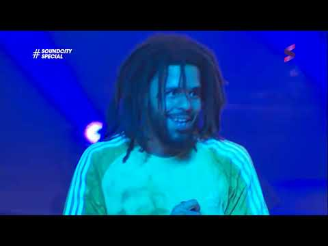 J. Cole Live in Lagos | 'Middle Child,' 'Pretty Little Fears' and More Performance