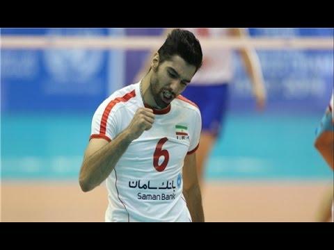 Seyed Mohammad Mousavi | Volleyball player national team of Iran (видео)