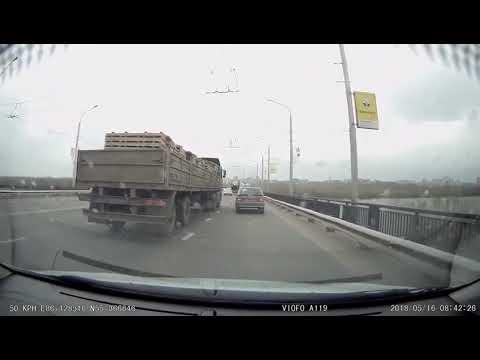 ДТП с грузовиком в Кемерово