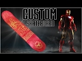Custom Iron Man Skateboard