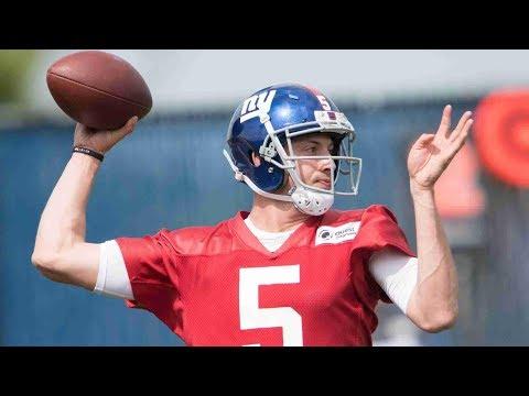 Davis Webb QB NY Giants Film Review vs Browns