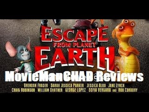 """""""Escape from Planet Earth"""" (2013) movie review by MovieManCHAD"""