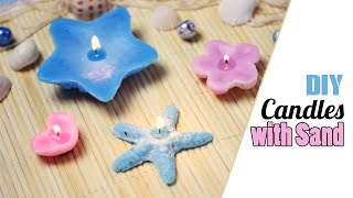 DIY: Customized Candles - with Sand as a Mold - YouTube