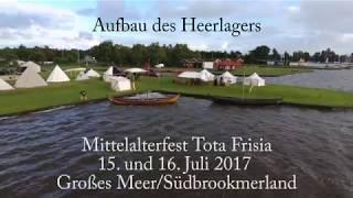 Aufbau des Heerlagers zum 5. Mittelalterfest am Großen Meer. Am Samstag, 15. Juli und Sonntag 16. Juli 2017 könnt Ihr bei...