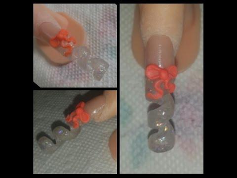 nail art - spiral
