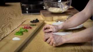 Rezept Kartoffelpizza mit Südtiroler Speck
