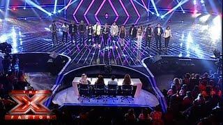 الأغنية الجماعية - العروض المباشرة الأسبوع 4 - The X Factor 2013
