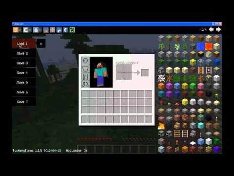 Poradnik Minecraft#Jak zainstalować i obsługiwać Tomany-Items
