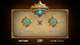Cosmo vs Monsanto, game 1