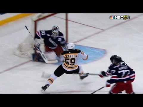 Video: Tim Schaller chases Henrik Lundqvist with spectacular goal