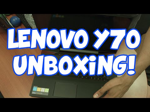 Lenovo Y70 Touch Unboxing!