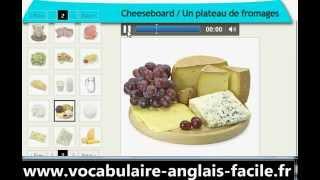Vocabulaire Anglais Les Aliments, La Nourriture (vocabulaire Anglais Facile)