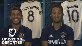 Giovani y Jonathan dos Santos, en exclusiva para Univision Deportes, contaron cómo ha sido la experiencia de sus primeros...