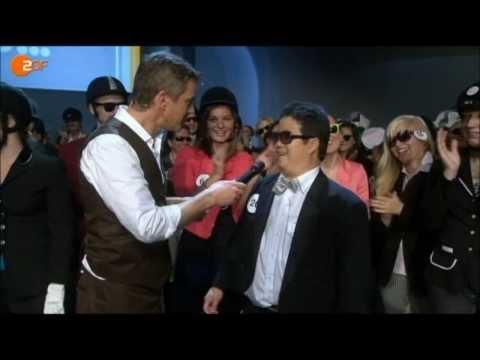 PSY – Gangnam Style – Wetten dass… Stadtwette Bremen 3.11.2012 – PSY BELIEBTESTES VIDEO