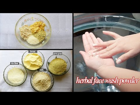 Herbal face wash powder at home | 100% natural | 200% working