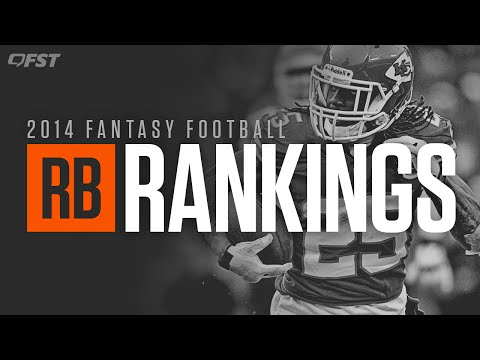 2014 Fantasy Football: Running Back (RB) Tiers and Rankings thumbnail