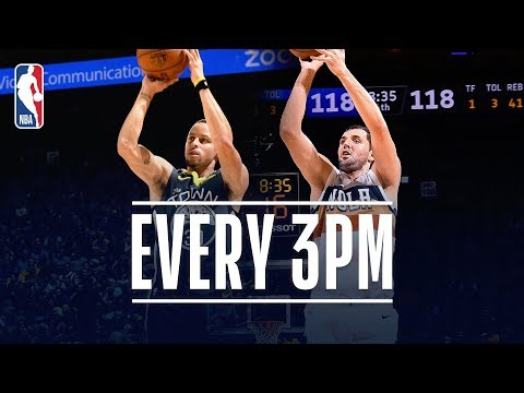 Video: The Pelicans and Warriors Combine For An NBA record 43 3PM | January 16, 2019