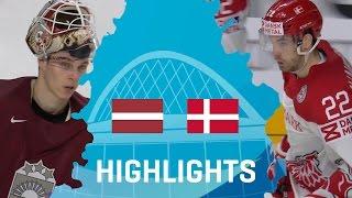 Латвия - Дания3-0