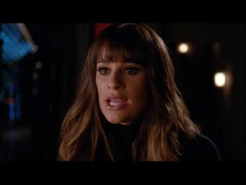 Glee - Rachel Breaks Up With Finn In The Auditorium 4x04