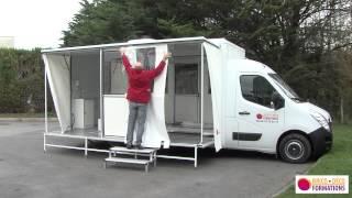 Camion mobile de formation
