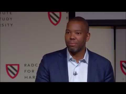 "Ta-Nehisi Coates speaks at the Harvard ""Universities and Slavery"" conference"