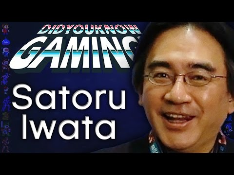 Satoru Iwata CEO Game Developer Gamer