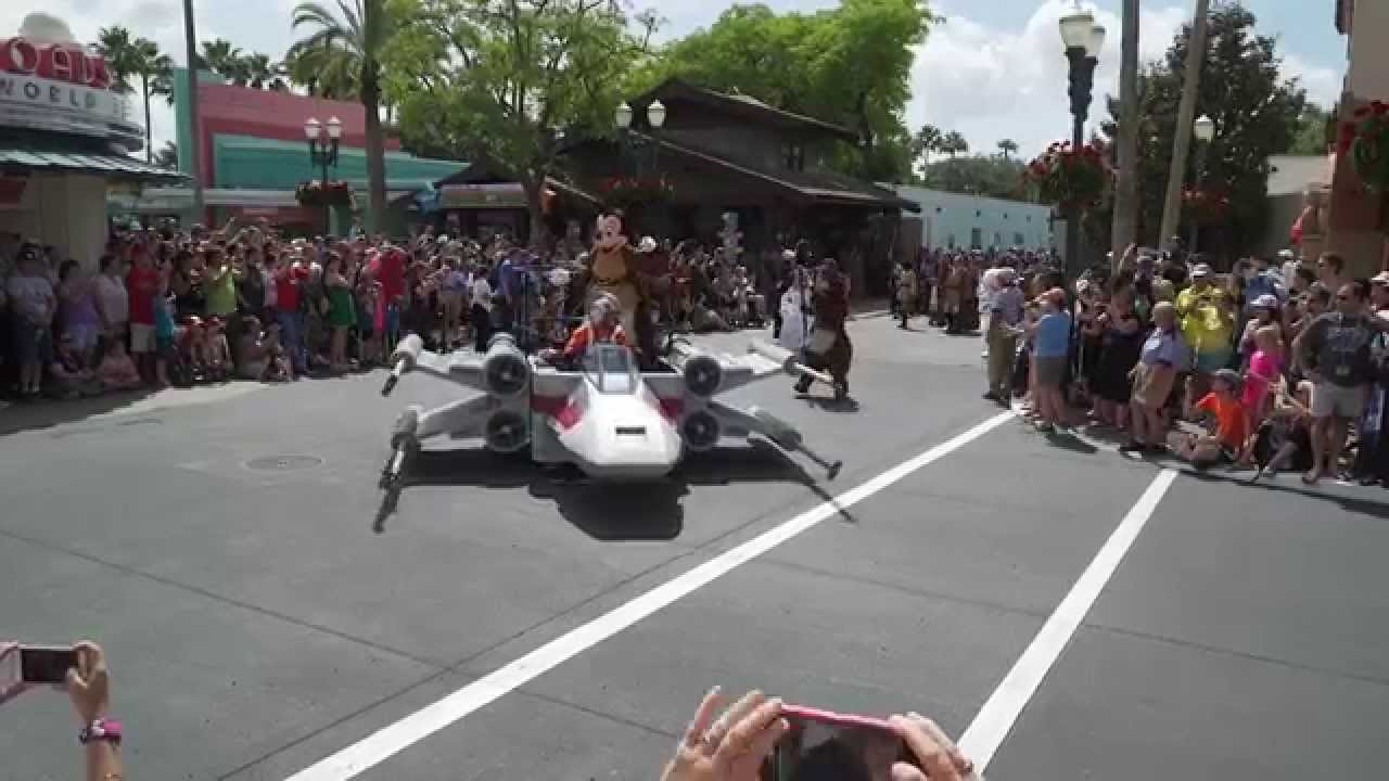 2015 Star Wars Weekends - Legends of the Force Motorcade Weekend 1