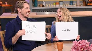 Video How Well Do Kristen Bell + Dax Shepard Really Know Each Other? MP3, 3GP, MP4, WEBM, AVI, FLV Maret 2019