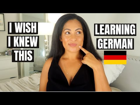 Things I Wish I Knew Before Learning German