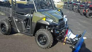 9. Polaris Ranger 500 with Plow for $185/Month!!!