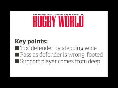 Mini Rugby Video: The two-on-one