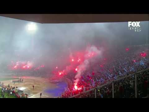 Video - Salida Universidad de Chile vs Chivas Semifinal Copa Libertadores HD - Los de Abajo - Universidad de Chile - La U - Chile