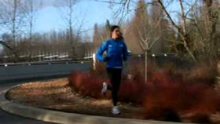 Nike Commercial with Kara Goucher using the AlterG