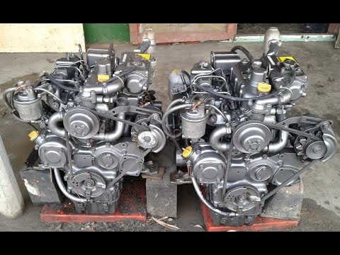 YANMAR Engine start video clips