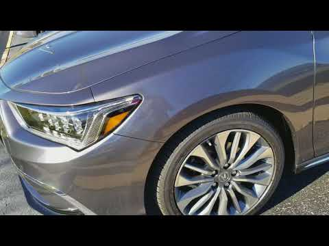 2018 Acura RLX 3.5L V6 Start Up And In-Depth Tour