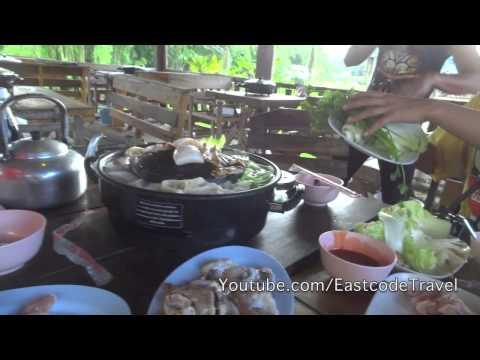 Thai style Pork BBQ buffet หมูกระทะ ปาย